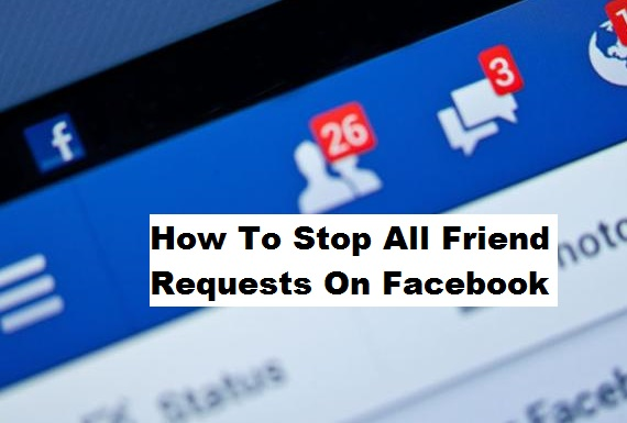 how to stop spam friend requests on facebook