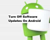 Turn Off Software Updates On Android