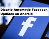 Disable Automatic Facebook Updates on Android