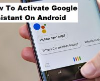 Activate Google Assistant On Android