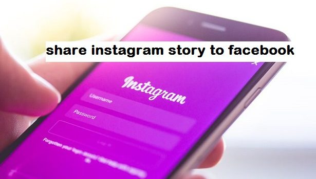share instagram story to facebook