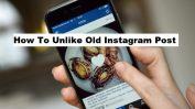 unlike old instagram post