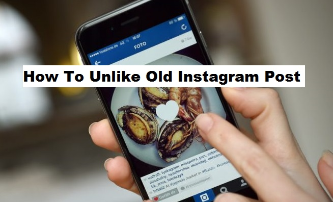 How To Unlike Old Instagram Posts
