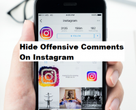 Hide Offensive Comments On Instagram