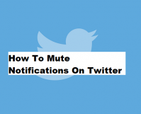 How to Mute Notification on Twitter
