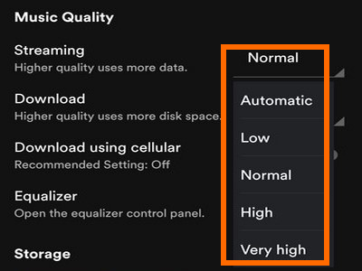 How to Save Data When Using Spotify