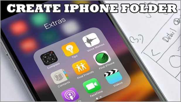 How to Create a Folder on iPhone   For iPhone XR, iPhone XS