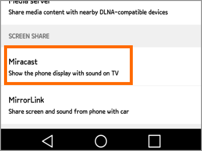 How to Mirror LG Phone Screen to TV