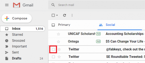 Snooze Emails On Gmail