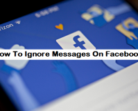 How To Ignore Messages On Facebook