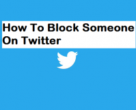 Block Someone On Twitter