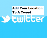 Add Your Location To A Tweet