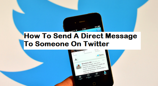 Send A Direct Message To Someone On Twitter