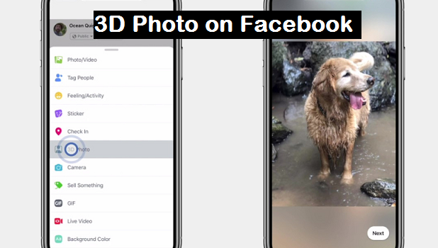 3d photos on facebook