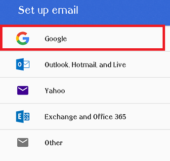 How to change Default Gmail Account
