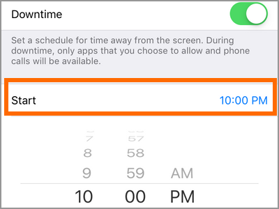 How to Use Downtime to Disable App Usage on Specific Times ...