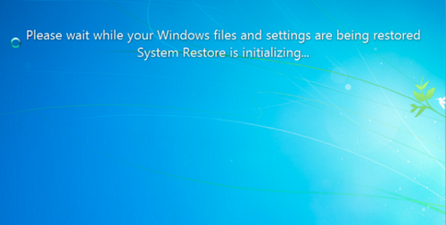 how to system restore windows