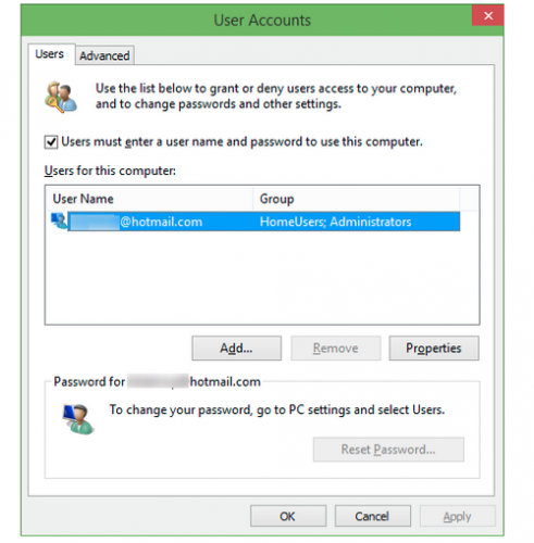 How to auto login in Windows 10