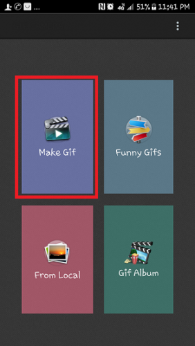 CREATE GIFS ON ANDROID