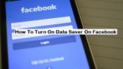 Turn on Data Saver On Facebook