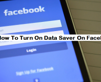 Turn on Data Saver On Facebook