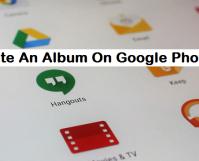 create an album on Google photos
