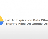 Set An Expiration Date When Sharing Files On Google Drive