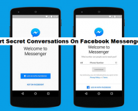 start secret conversations on Facebook Messenger