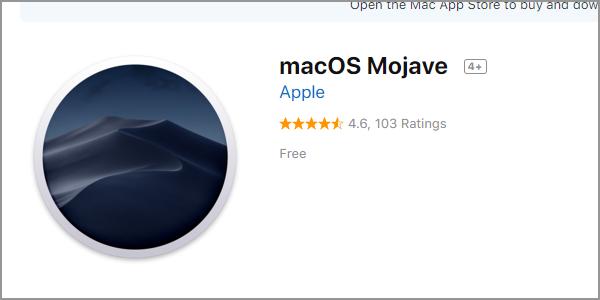Mac Apple Menu App Store Feature macOS Mojave
