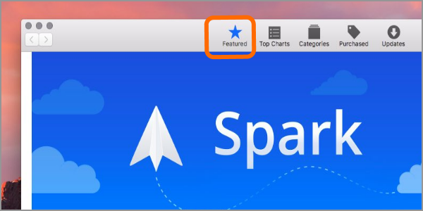 Mac Apple Menu App Store Feature