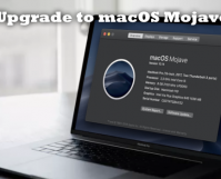 laptop with MacOS Mojave On