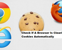 Check If A Browser Is Clearing Cookies Automatically