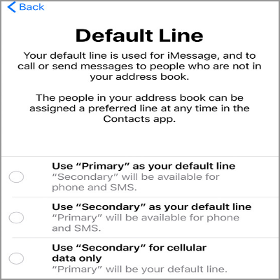 how to set up imessage without sim card