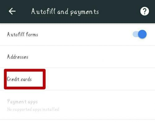 Add A Payment Method To Google Chrome