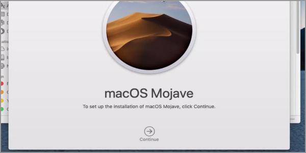 macOS Mojave Install