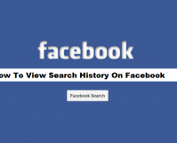 How To View Search History On Facebook