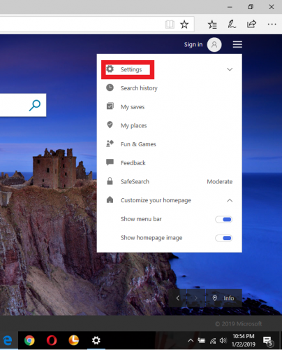 How To Change Country Region On Bing