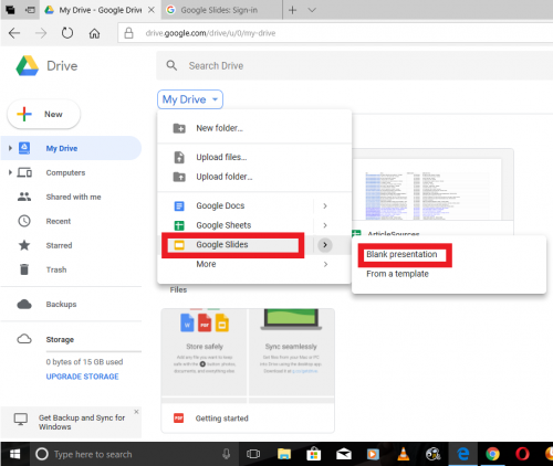 How To Change The Background Color On Google Slide