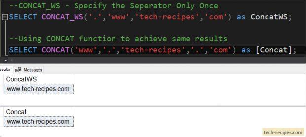 CONCAT_WS SQL Server_1