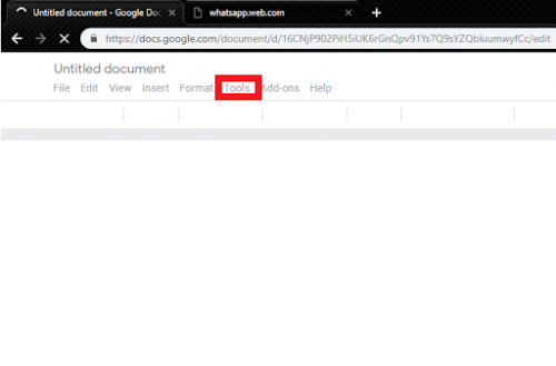 How To Use Dictionary On Google Docs