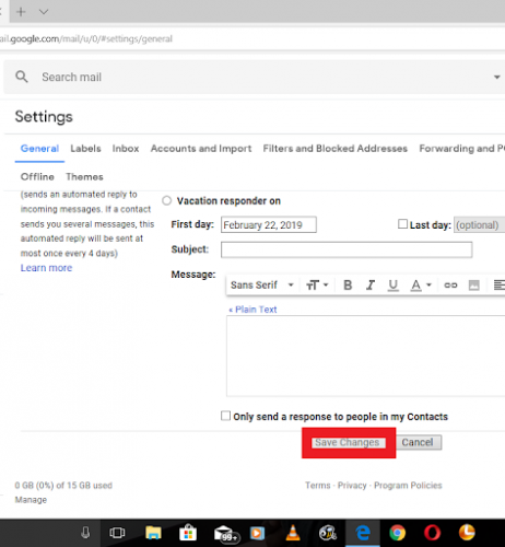 Turn Off Desktop Mail Notifications On Gmail