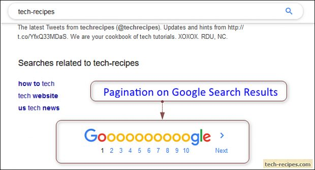 Pagination In SQL Server-Google Search