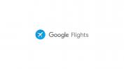 Google Flights header