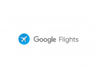Google Flights header
