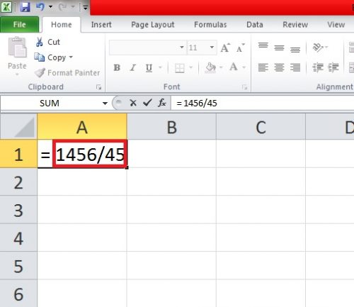 How to Divide in Excel: Division Formulas and Shortcuts