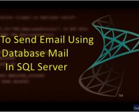 How To Send Email Using Database Mail In SQL Server