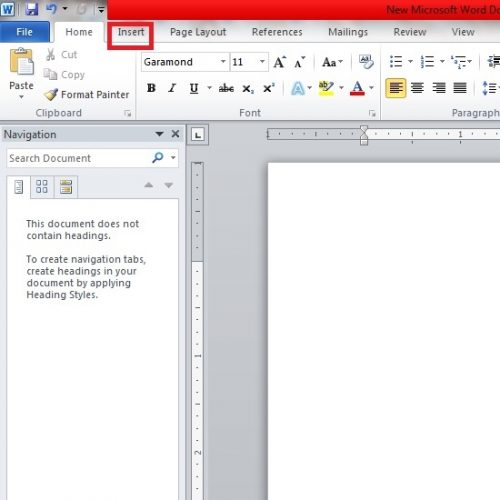 How to Add Page Numbers in Word [ to the First and a Specific Page]