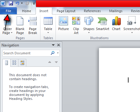 turn autosave on in word step 2