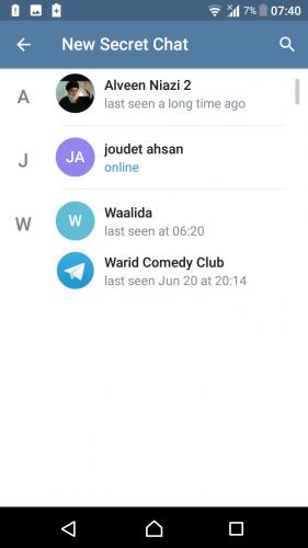 How to Start a Secret Chat on Telegram-Encryption & Self