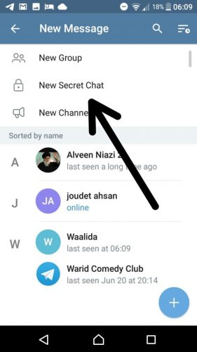 How to Start a Secret Chat on Telegram-Encryption & Self Destruct Timer